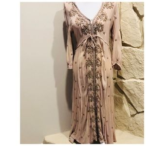 Free people embroidered Fable dress medium